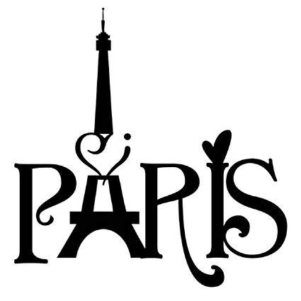 Paris city france eiffel. French clipart wall art
