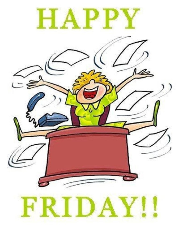 Happy free best tgif. Friday clipart