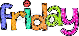 Friday clipart.  collection of images