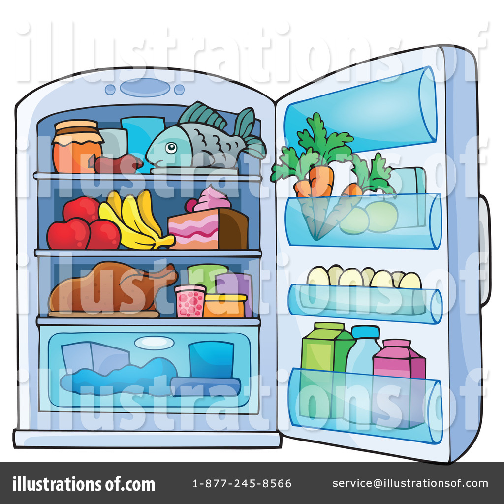 Illustration by visekart royaltyfree. Fridge clipart