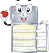 Refrigerator clip art royalty. Fridge clipart