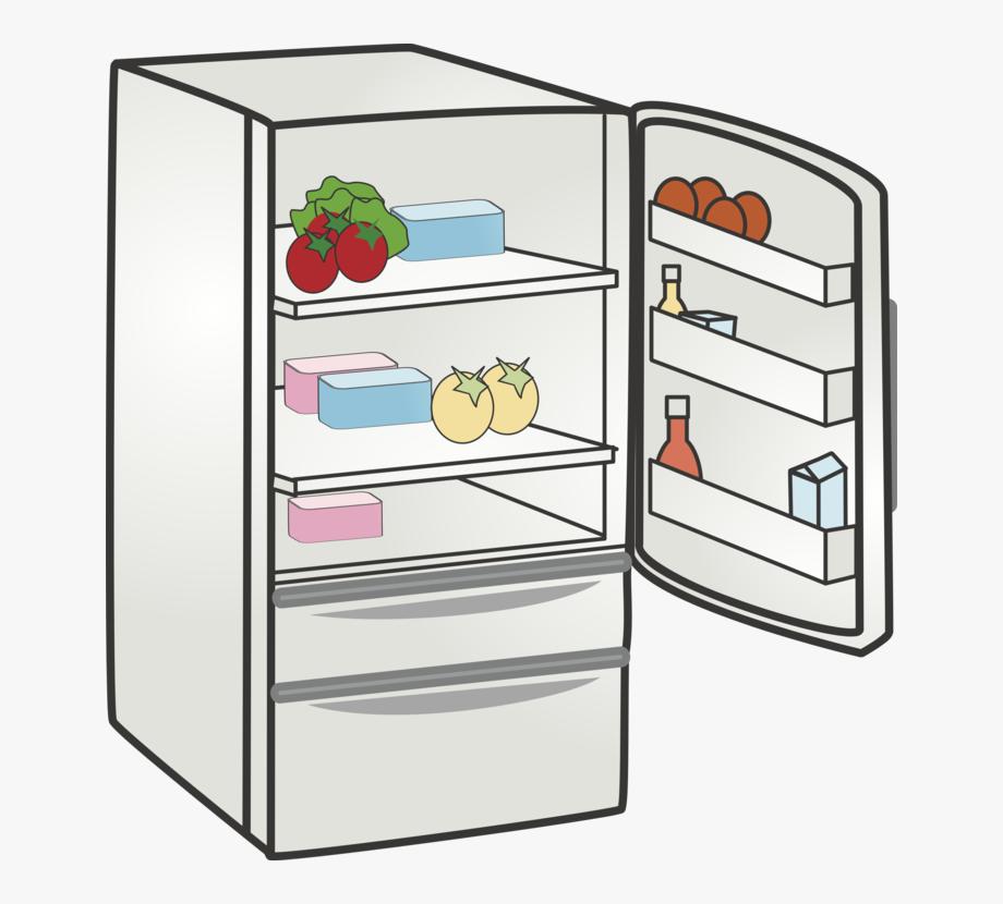Refrigerator clipart. Home appliance kitchen freezers