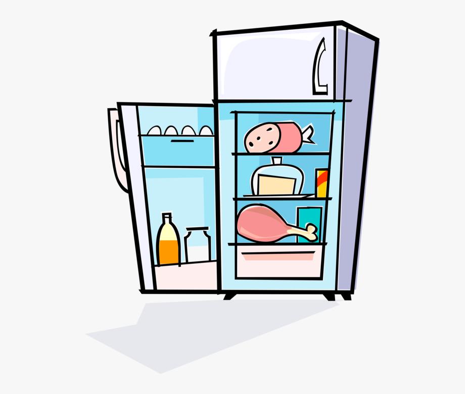 Full refrigerator clip art. Fridge clipart