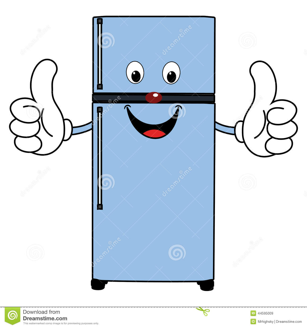 Fridge clipart cartoon. Refrigerator free download best