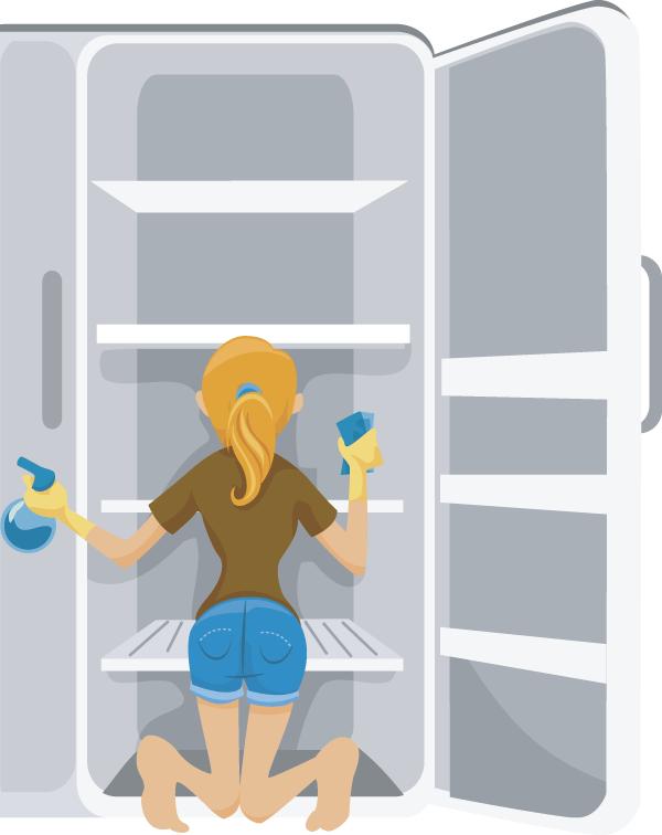 Fridge clipart clean refrigerator. Download free png transparent