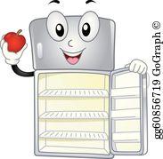 Fridge clipart clip art. Refrigerator royalty free gograph