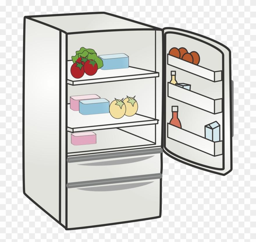 Refrigerator png free clip. Fridge clipart cute