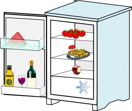 Fridge clipart food clipart. Free with jhelebrants and