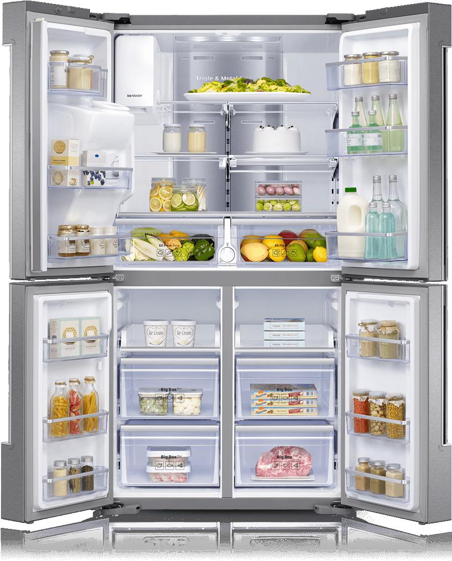 Family hub l rf. Fridge clipart freezer meal
