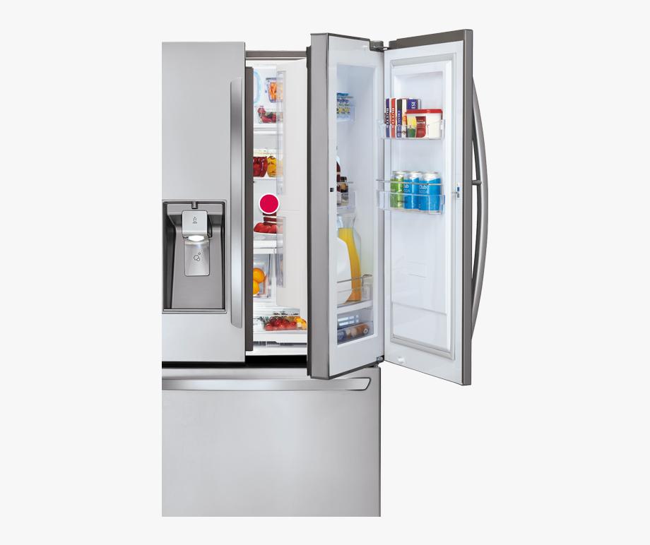 Lg refrigerator png with. Fridge clipart fridge door