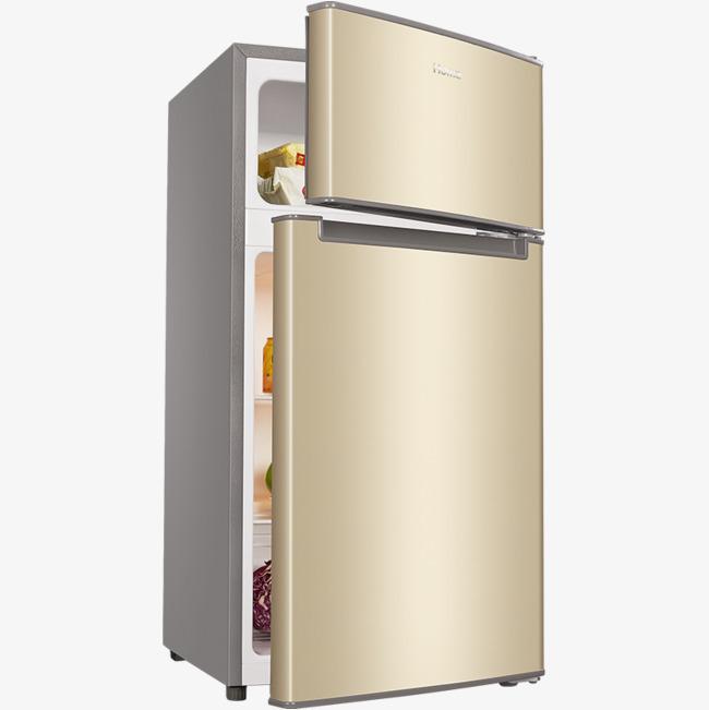 Fridge clipart household. Double door refrigerator prod