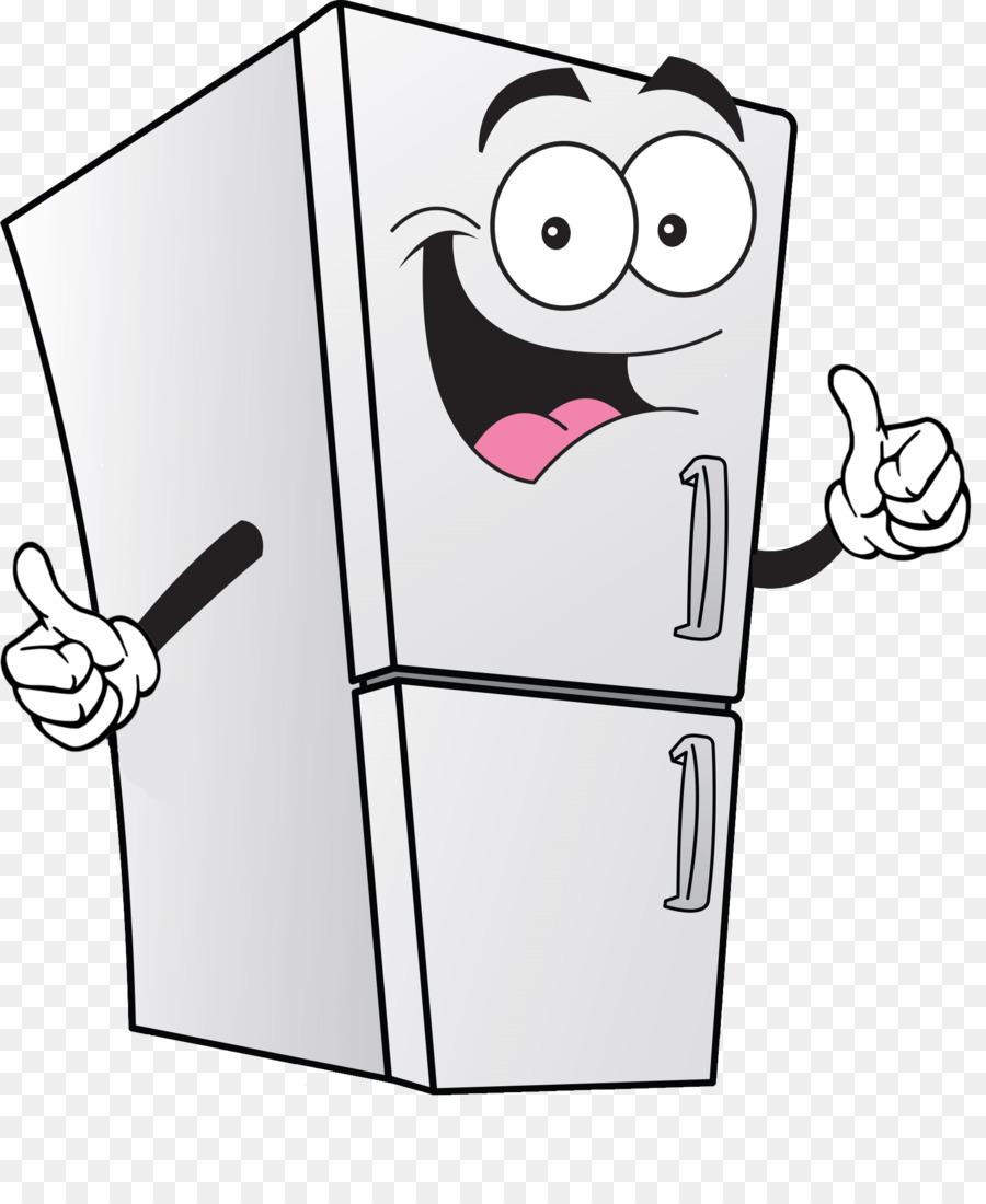 Fridge clipart household. House cartoon