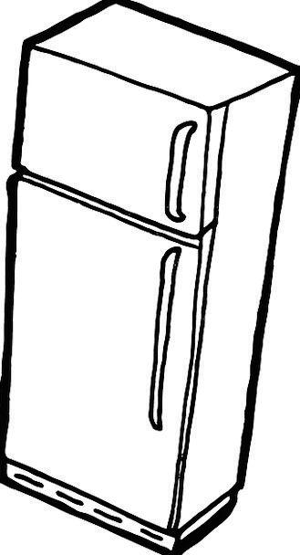 Icebox pixcove . Refrigerator clipart ice box