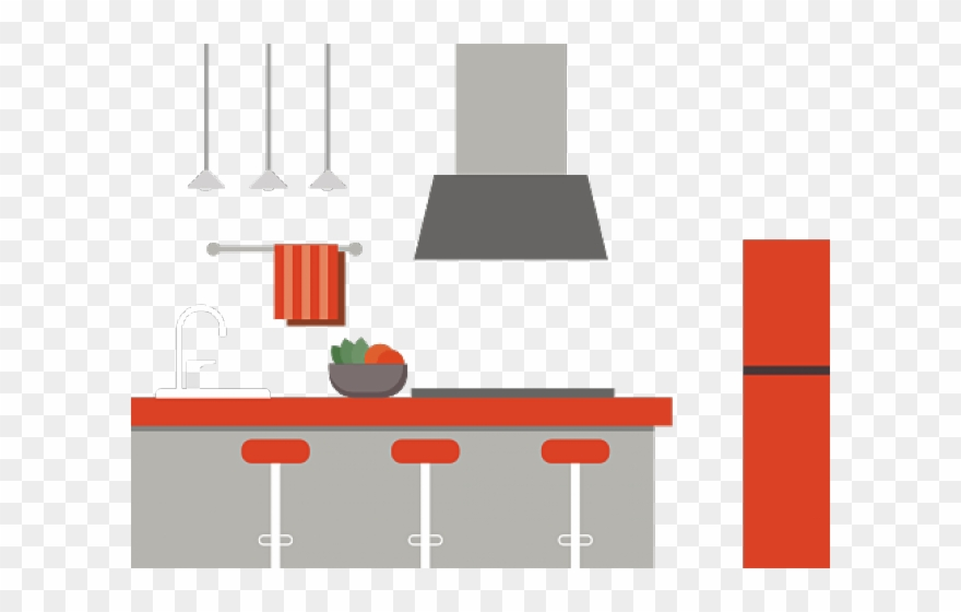 Refrigerator png download . Fridge clipart messy kitchen table