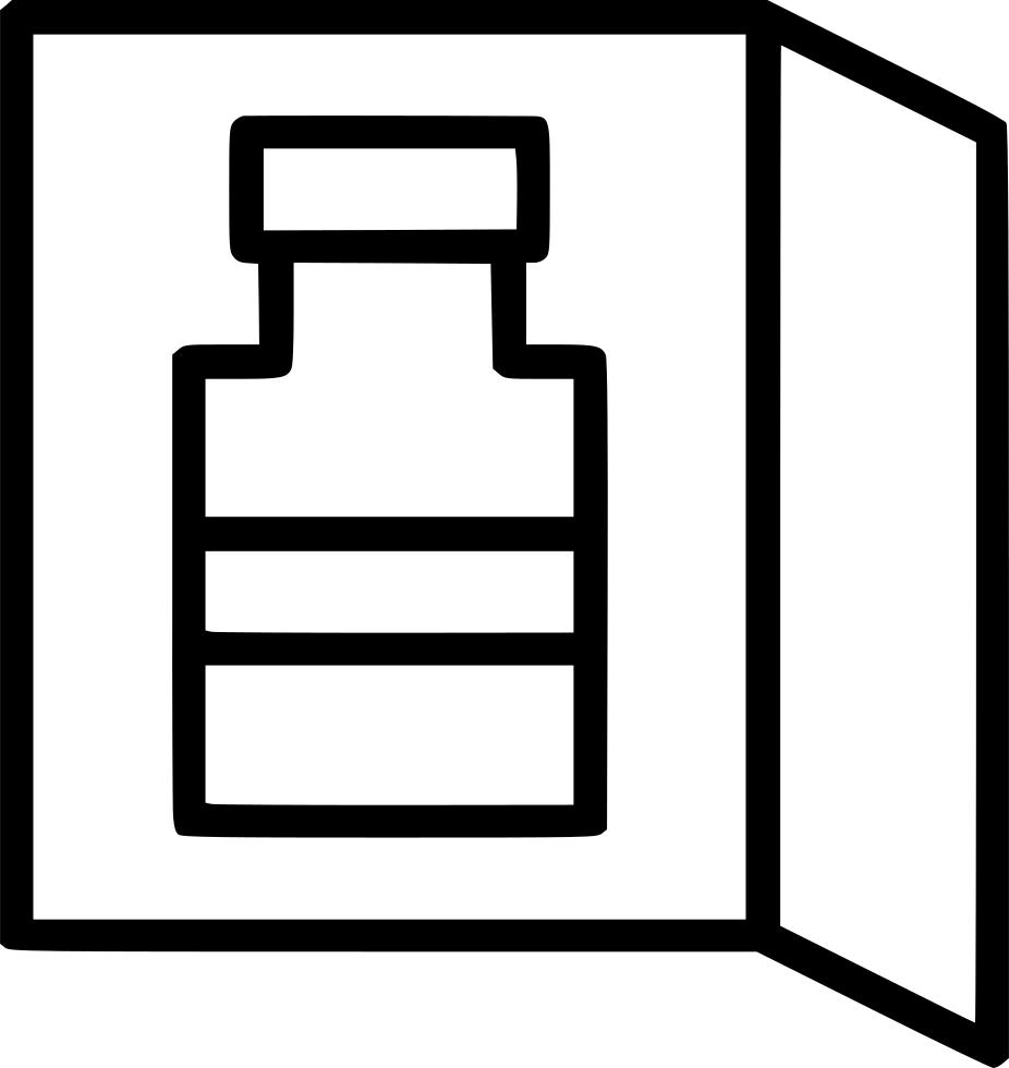 Fridge clipart mini fridge. Svg png icon free