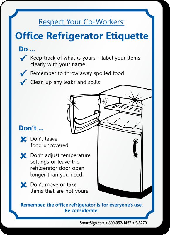 Fridge clipart office. Kitchen cartoon refrigerator