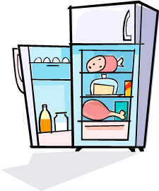 Quickie of the day. Fridge clipart old refrigerator