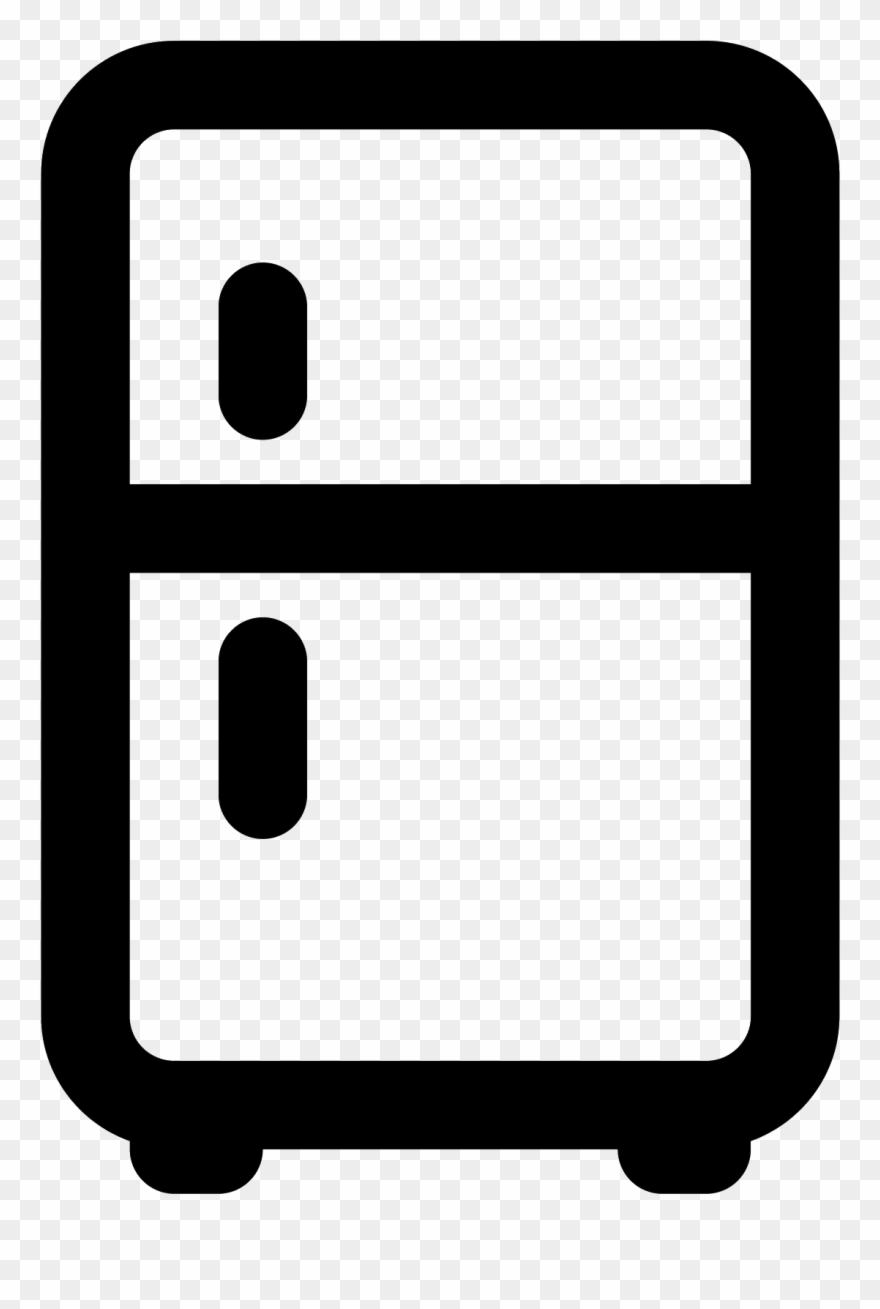 Fridge clipart old refrigerator. Icon png download