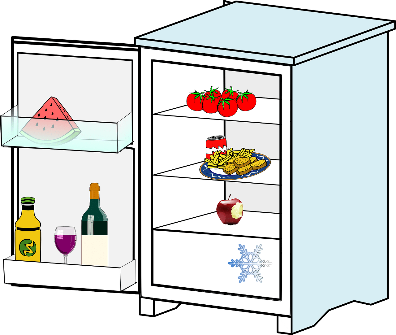 Fridge clipart out.  reasons you need