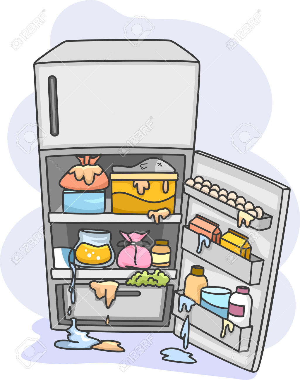 Fridge clipart small fridge.  refrigerator clipartlook
