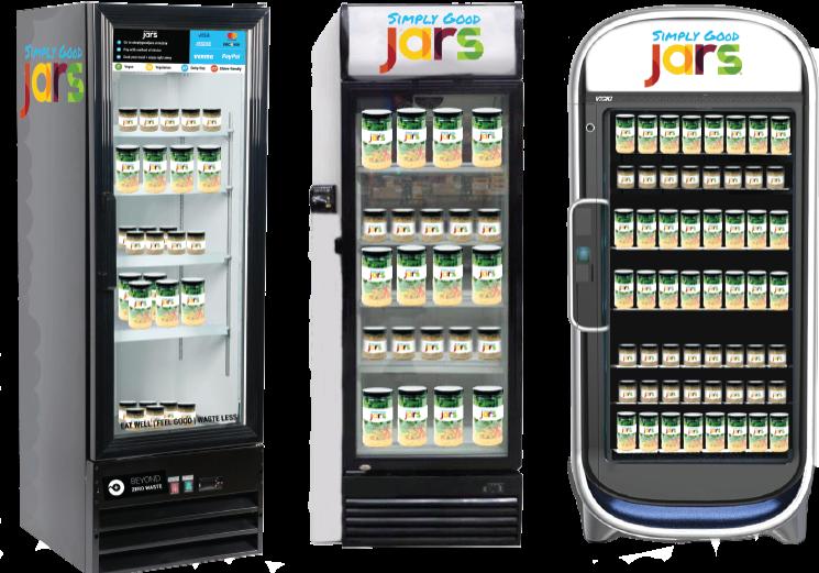 Simply good jars suite. Fridge clipart smart fridge