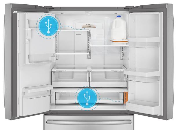 Fridge clipart smart fridge. Linux enabled invites hacker
