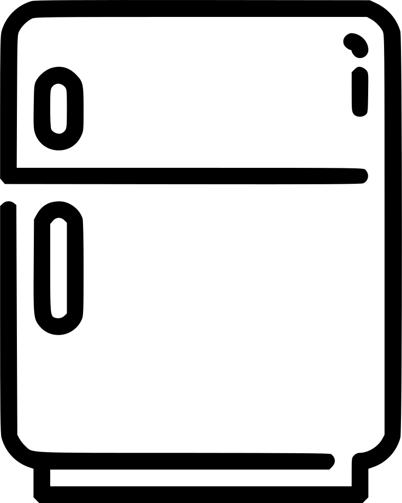 Png icon free download. Fridge clipart svg