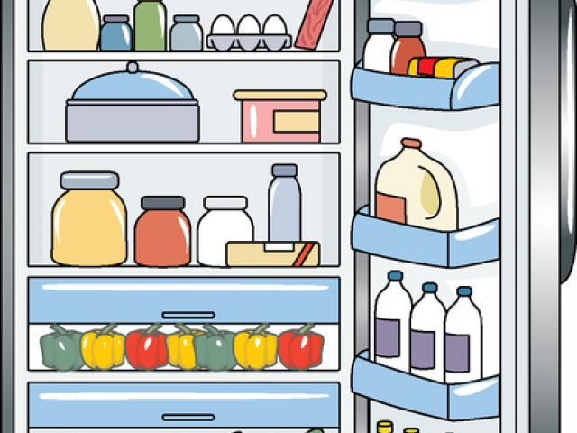 Free refrigerator download clip. Fridge clipart things