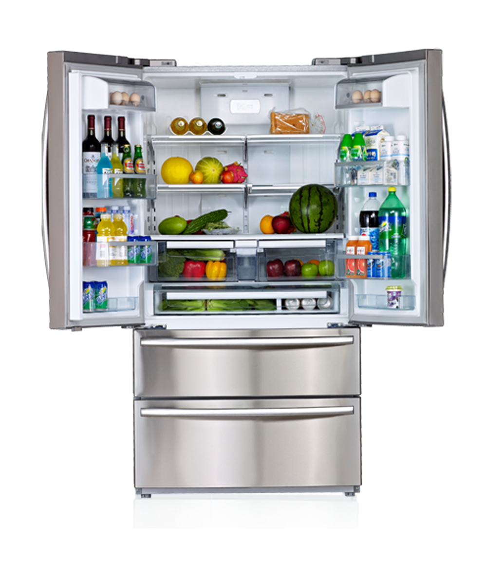 Refrigerator png images free. Fridge clipart transparent background