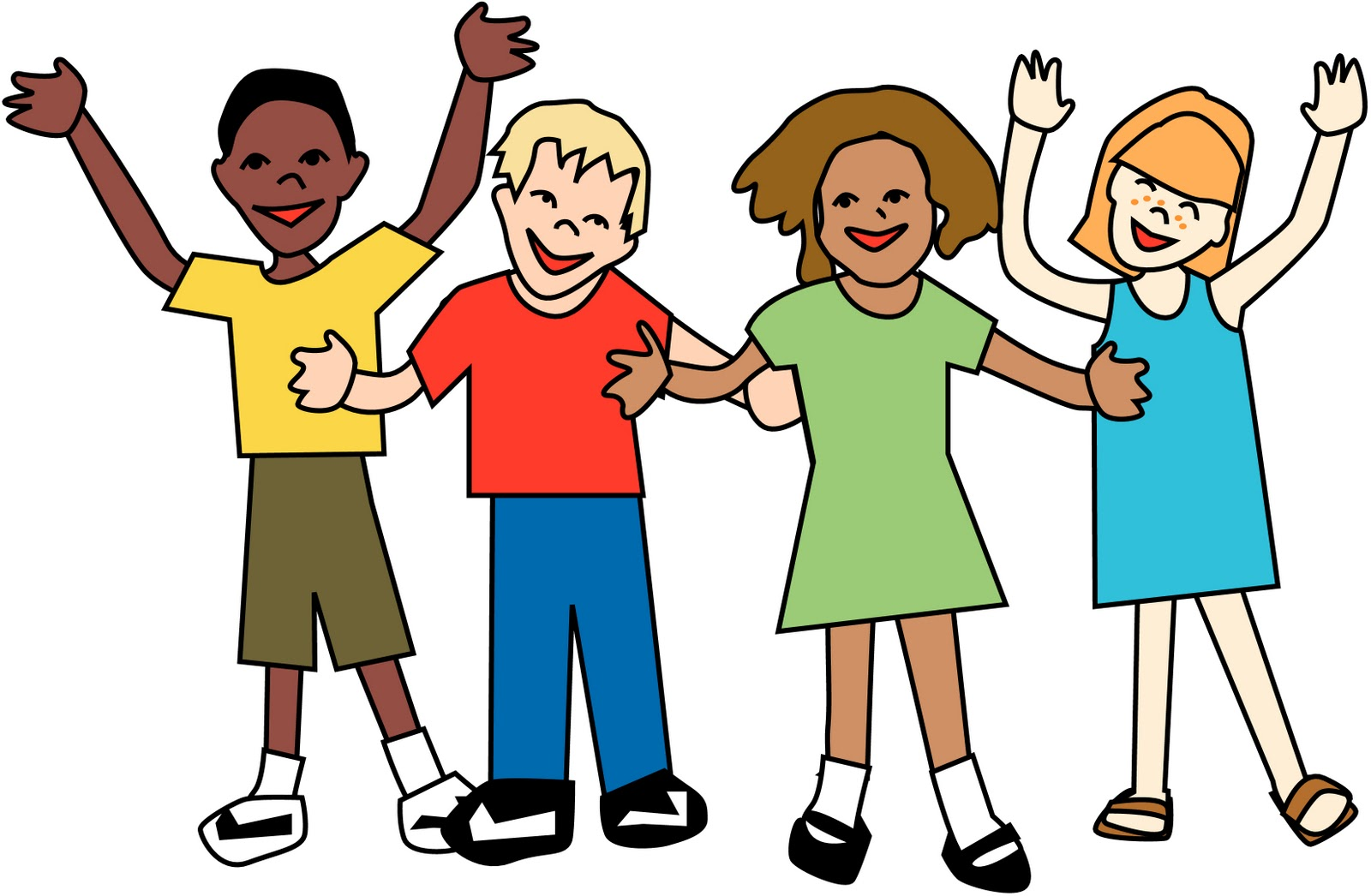 Caring clipart peer. Friendship at getdrawings com