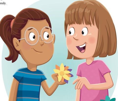 Lds clipart friend. Friendship teaching children april
