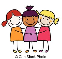 Collection friends black and. Friend clipart