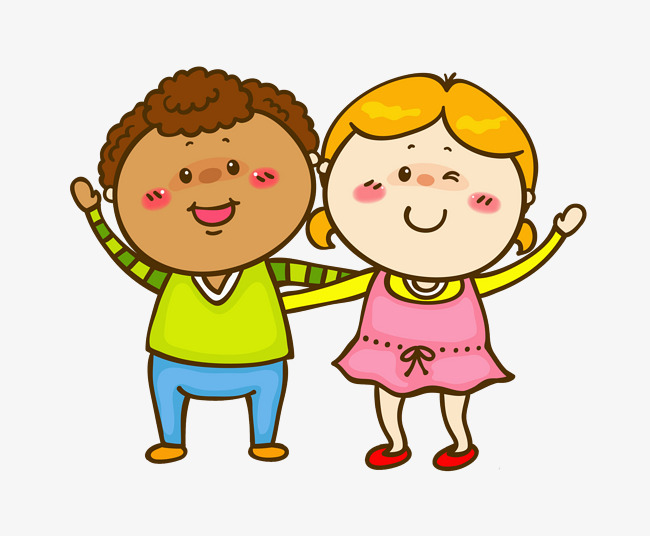 Friendship clipart kindergarten friend. Close friends good yellow