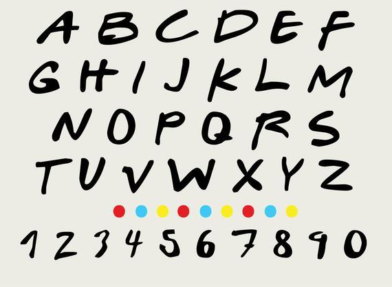 Friends font svg png. Friend clipart alphabet