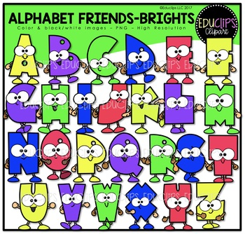 Friend clipart alphabet. Friends brights clip art