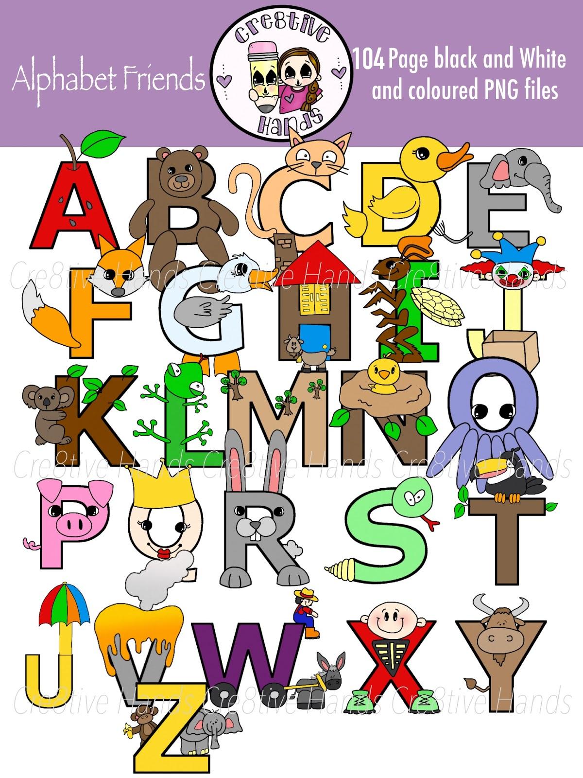 Cre tive hands friends. Friend clipart alphabet