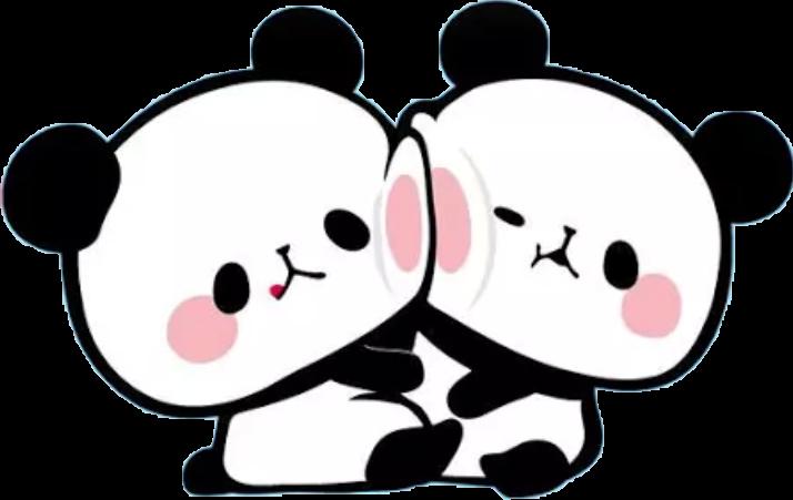Friendship clipart bff. Friends kawaii sticker by