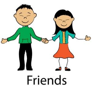 Friend clipart cartoon. Free friends images at