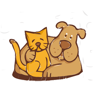 And dog cliparts of. Friends clipart cat