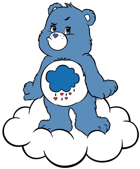 Care bears and clip. Friend clipart cousins