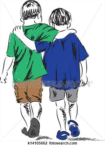 People together free clip. Friends clipart walking
