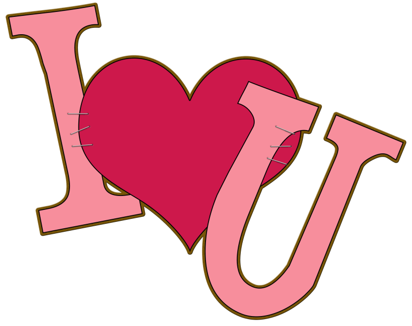 collection of i. Friends clipart love you