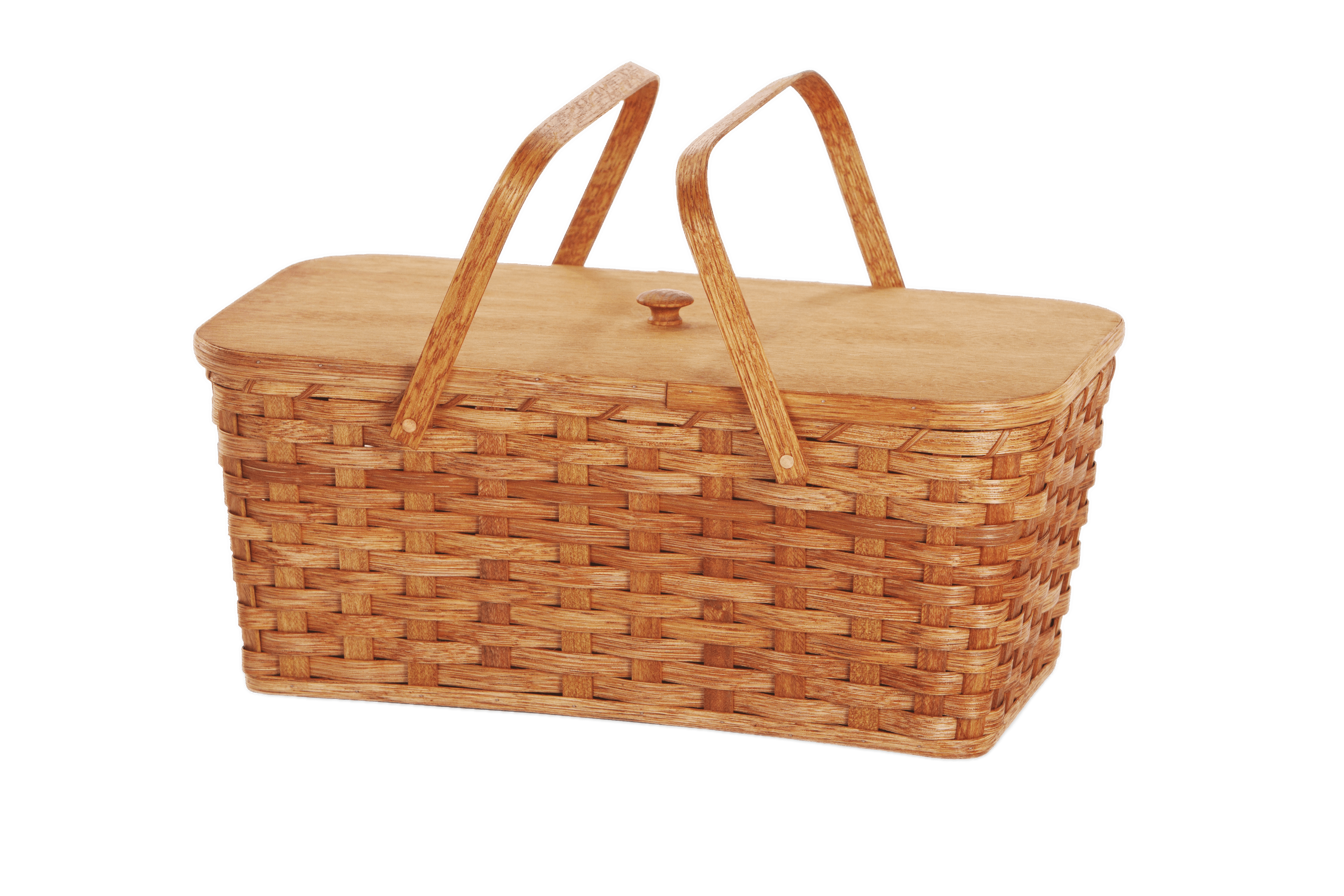 With two handles transparent. Picnic clipart picnic basket