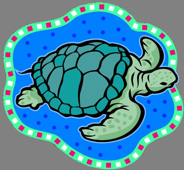Friend clipart turtle. Sea clip art panda