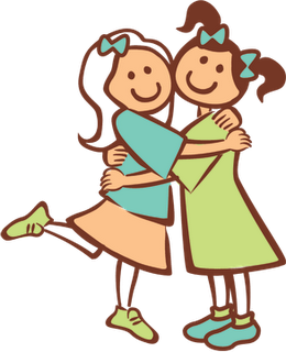 Friendly clipart.  collection of person