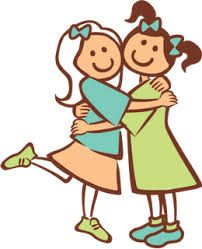 Friendship clipart congenial. Pleasantly agreeable friendly vocab