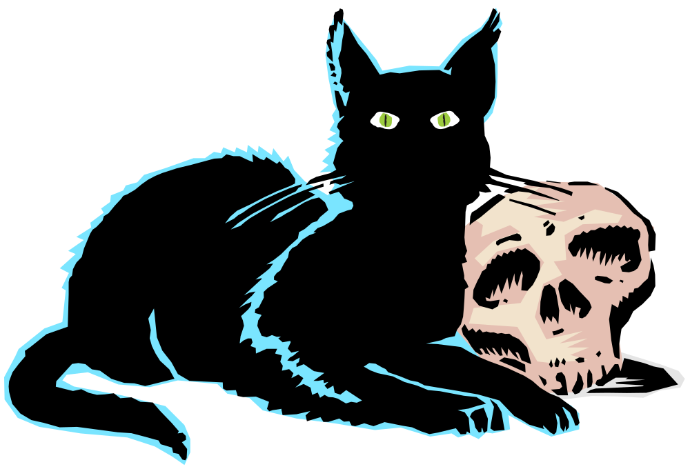 Onlinelabels clip art evil. Friendly clipart black cat