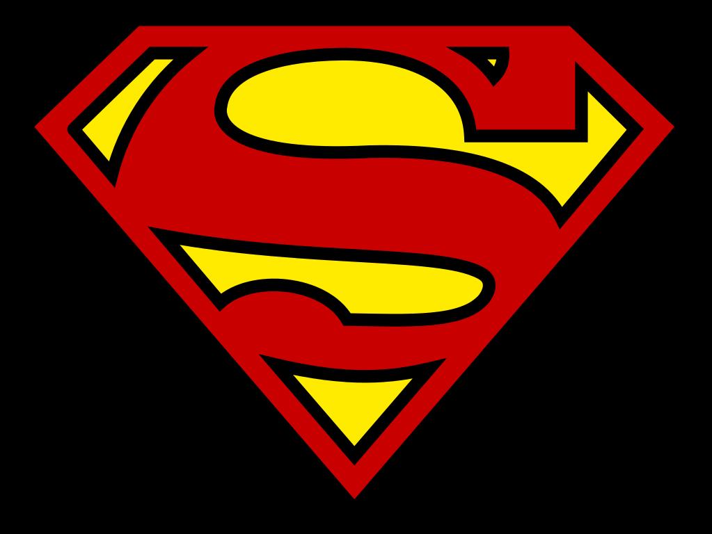Logo clipart supergirl. File superman shield svg