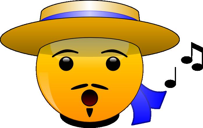 friendly clipart emoticon