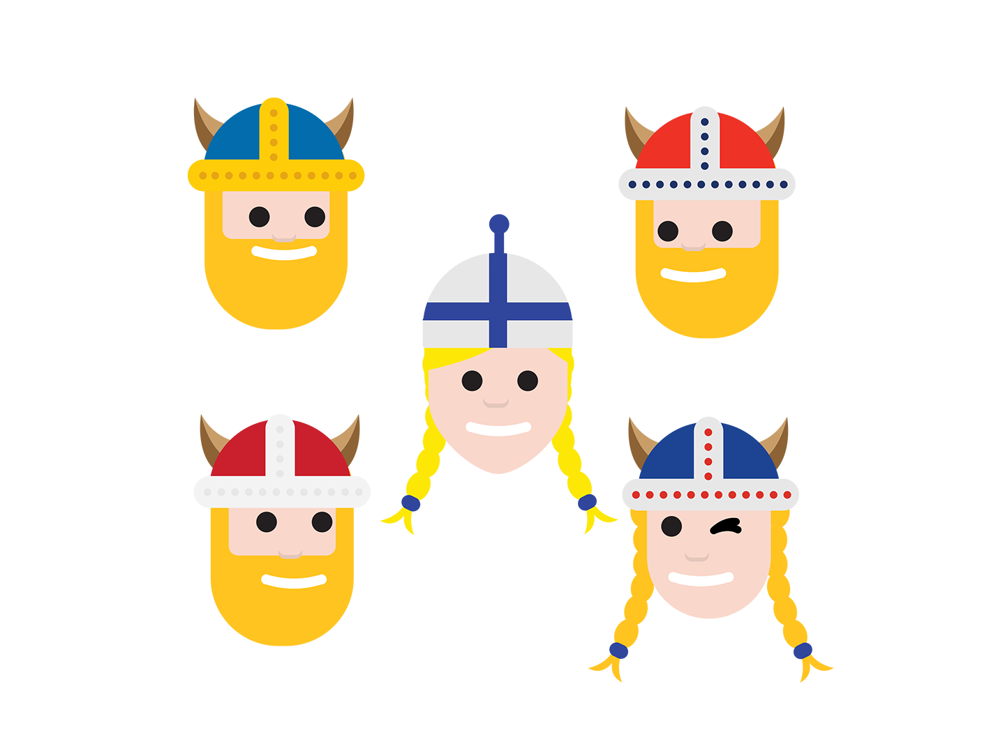 Finland emojis archives toolbox. Friendly clipart emoticon